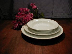 White Porcelain Dinnerware